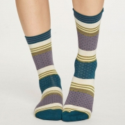 Thought Chaussettes Bambou - Ballad Blueberry