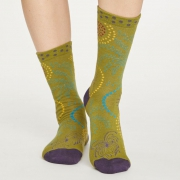 Thought Chaussettes Bambou - Firework Herb Green