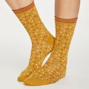 Thought Chaussettes Bambou - Dotty Gold