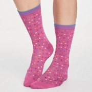 Thought Chaussettes Bambou - Dotty Violet