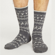 Thought Chaussettes Bambou - Reindeer Grey Marle