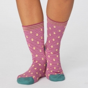 Thought Chaussettes Bambou - Gilly Spot Magenta
