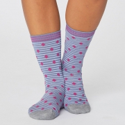 Thought Chaussettes Bambou - Gilly Spot Sea Blue