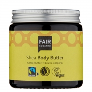 Fair Squared Bodybutter - Shea - 100 ml - Zero Waste Verzorgende bodybutter met een verwarmende sheageur