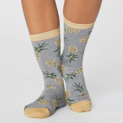 Thought Chaussettes Bambou - Pineapple Grey Marle