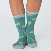 Thought Chaussettes Bambou - Pineapple Eucalyptus