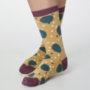 Thought Chaussettes Bambou - Mamie Spot Buttercup