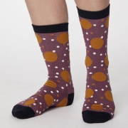 Thought Chaussettes Bambou - Mamie Spot Tulip Purple