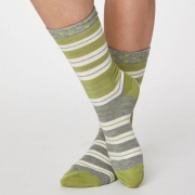 Thought Chaussettes Bambou - Addie Pea Green
