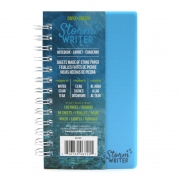 Onyx+Green Blocnote - Stormy Writer Notitieboekje van waterproof steenpapier