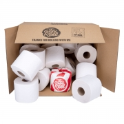 The Good Roll The Good Roll Toiletpapier - Unwrapped (48) 48 rollen toiletpapier verpakt in karton